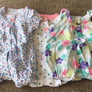Carters NB outfits
